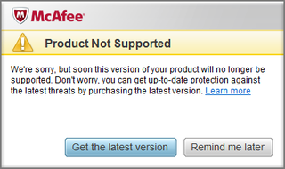 McAfee's ripped me off! Wasted 'money'!